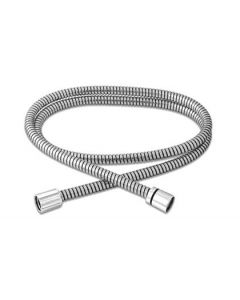Chrome 5-Foot Shower Hose with Chrome Connections (HRK-001)